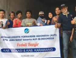 ALFI Jawa BaratBantu Korban Banjir di Karawang