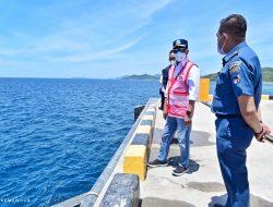 Menhub Cek Pelabuhan Khusus Logistik di NTT